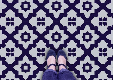 Capucine Vinyl Flooring: Retro Vinyl Floor tiles for your home