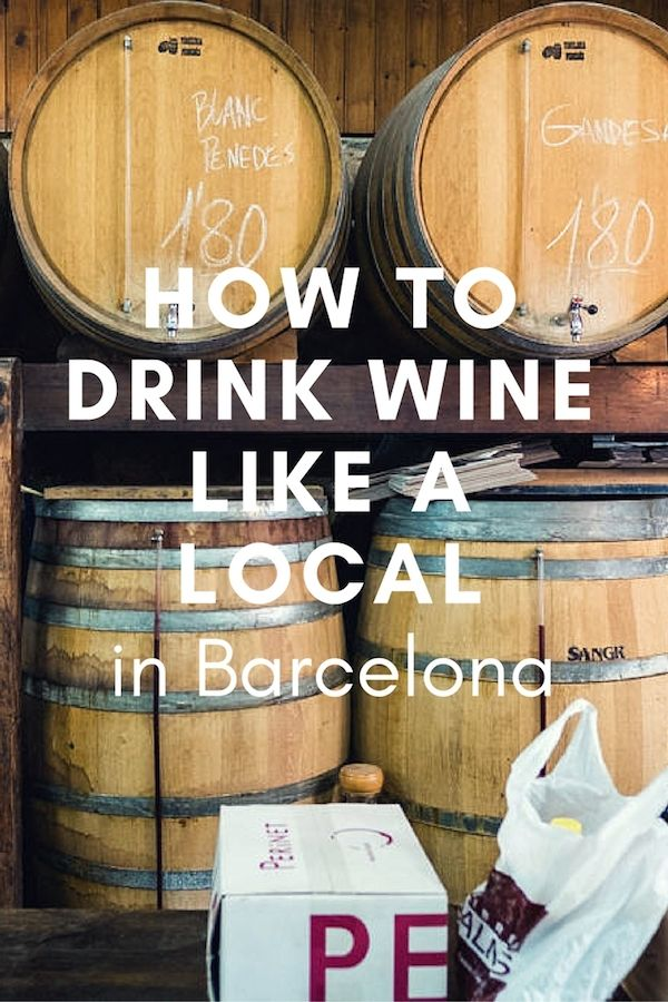 Important! We've got tips on how to drink wine like a local in Barcelona! Get them all here!