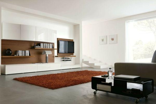 kleiner flachbildschirm wohnzimmer ideen flachscreen fernseher