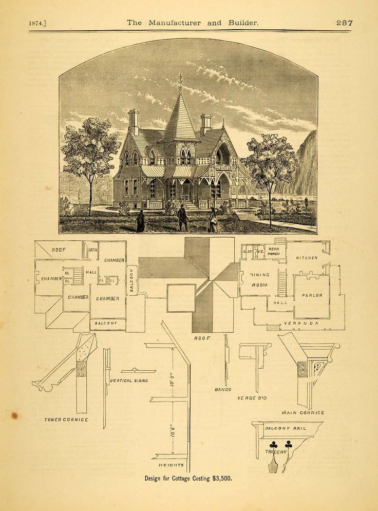 900 best historic floor plans images on pinterest Original victorian house plans