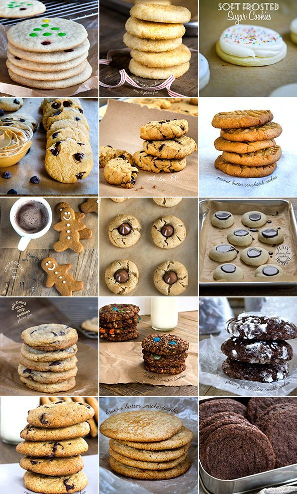 Get these 15 tested recipes for amazing gluten free Christmas cookies. Click through for a handy clickable collage that keeps them all in one place!