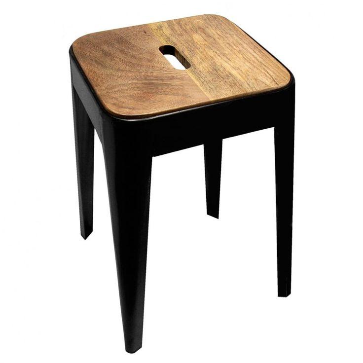les 25 meilleures id es concernant tabouret maison du monde sur pinterest le monde du tabouret. Black Bedroom Furniture Sets. Home Design Ideas