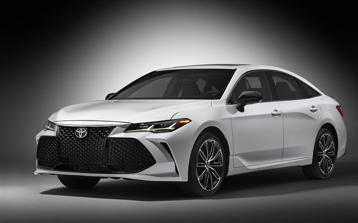 Download wallpapers Toyota Avalon, 4k, 2019 cars, luxury cars, new Avalon, Toyota