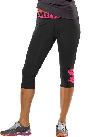 OMG, I WANT! under armour capris \u2665  - I lost 26 pounds from here EZLoss DOT com #products #fitness