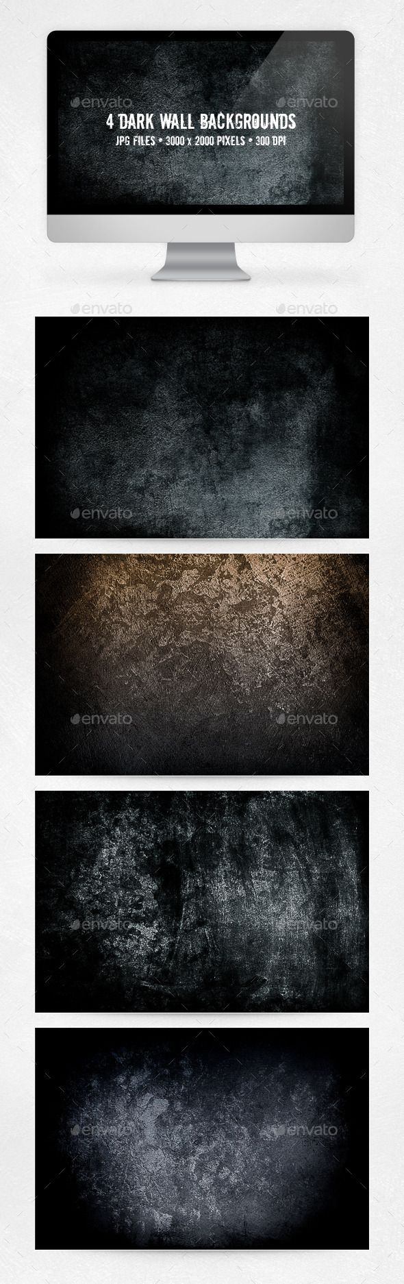 Dark Wall Backgrounds. Download here: http://graphicriver.net/item/dark-wall-backgrounds/10618365?ref=ksioks
