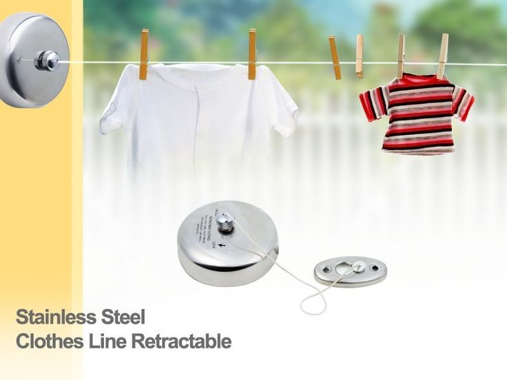 Retractable Stainless Steel Clothesline @ CrazySales.co.nz | Crazy Deals, Daily Deals, One Day Deals, Grab One Day Deals - Crazy Sales NZ