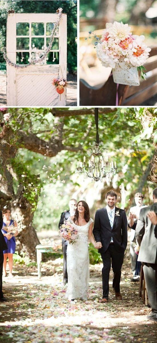 backyard wedding ceremony decoration ideas%0A Ceremony decor we  u   c   Outdoor Wedding