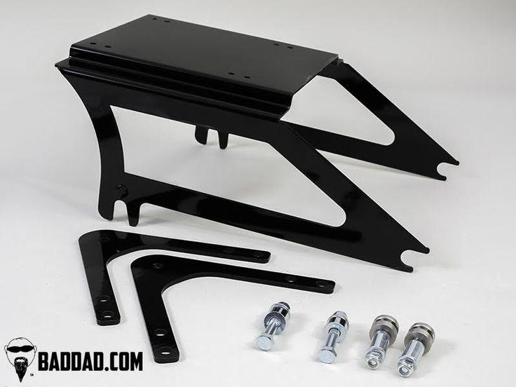 Bagger Fender Tour Pack Rack (1997-2008) | Bad Dad | Custom Bagger Parts for Your Bagger