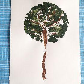 hverdagshjem: Livets træ - Placenta print DIY