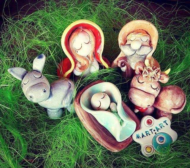 #presepe #addobbinatalizi #merrychristmas #NATALE #christmas #CERAMICA #ceramicart #ceramicartist #handmed #argilla #terracotta #artigianato #fattoamano #lemaddine #creativemamy #percorsicreativi #