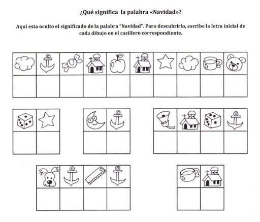 M s de 25 ideas incre bles sobre ejercicios cognitivos en for Actividades de navidad para colorear