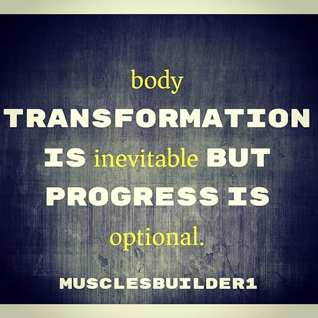 The transformation of your body is totally up to you,but the option is you need to keep going to see the changes! 💪💪