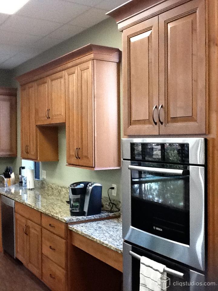 Best Of Flat Panel Oak Kitchen Cabinets