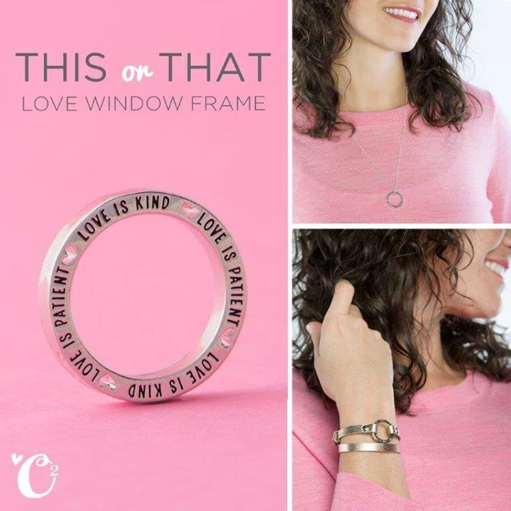Simple style or fashionable frame? Show your {love} in endless ways with our new Love Is Patient Window Frame.