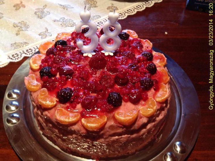 Fruit Cake / Gyümölcs torta