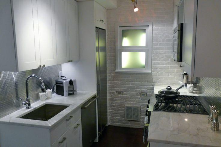 Kitchen Gorgeous Apartment Kitchen Design With Custom Kitchen Cabinets Galley Kitchen Designs Industrial Kitchen Design Long Narrow Kitchen Ideas Expensive Amazing Ideas Apartment Kitchen Design