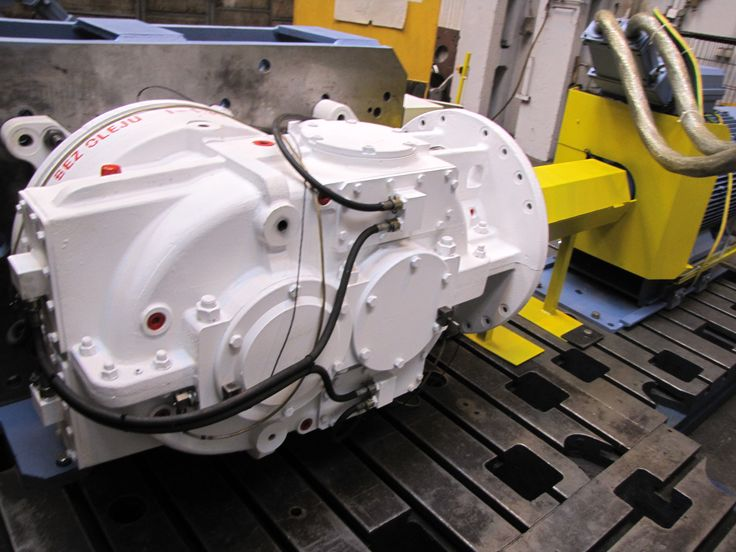 Testing MARAT Industrial Gearboxes