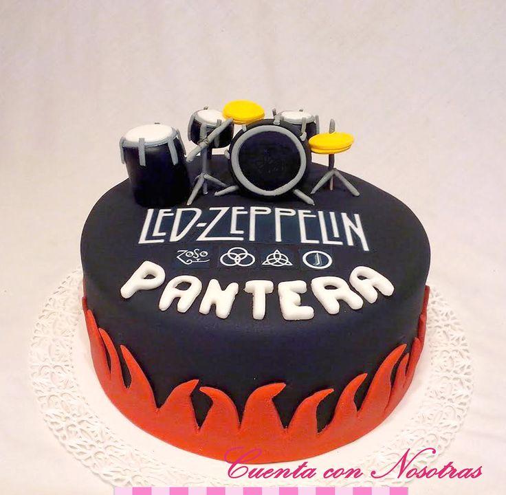 Torta Led Zeppelin Led Zeppelin Cake
