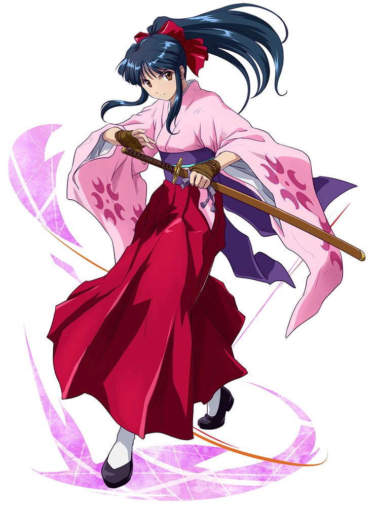 Sakura Shinguji from Project X Zone 2