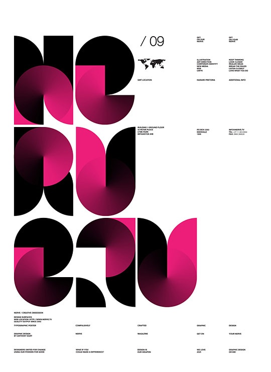 Anthony Dart #Diseño editorial #Tipografia
