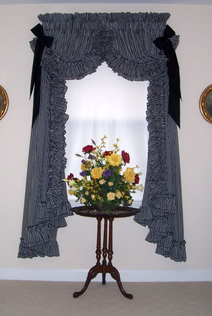 Madelyn Ruffled Priscilla Curtains Window Treatment