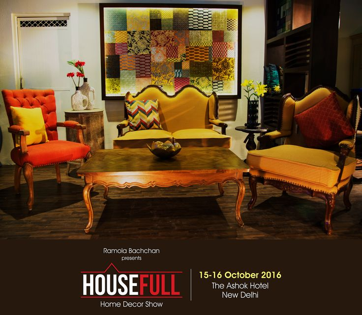 """Statement pieces to accentuate your living room and make your guests go """"Wow"""" with each decor find! #HouseFullExhibition #InteriorDesigner #Decoration #Accessories #LuxuryHomes #Fashion #LuxuryDecor #LuxuryMeetsArt #Interior #Architect #FurnitureIndia #DecorIdeas #RamolaBachchan #Delhi #Shopping #LuxuryShopping"""