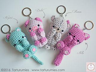 Amigurumi Free Patterns Beginners : Best crocheted keyrings images amigurumi