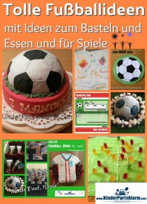 Fußball Kindergeburtstag – KindergeburtstagPartyAlarm