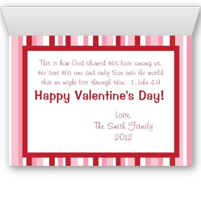 christian valentine card god is love bible verse