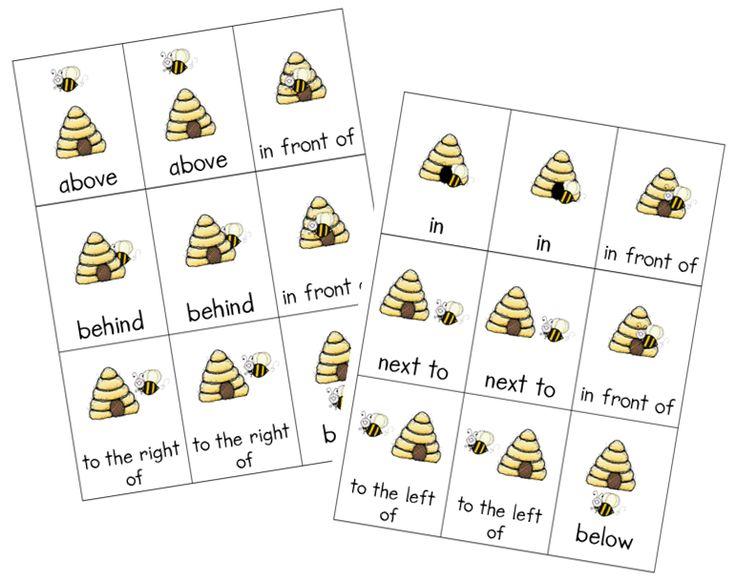 17+ ideas about Positional Words Kindergarten on Pinterest ...