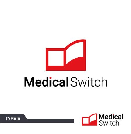 m-spaceさんの提案 - 医療・介護システム開発企業「MedicalSwitch」のロゴ   クラウドソーシング「ランサーズ」