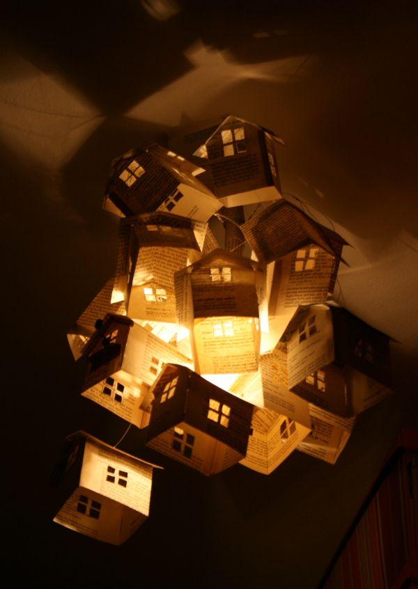 Pi u00f9 di 25 fantastiche idee su Lampadario Di Carta su Pinterest   Lampadario in tessuto, Oggetti     -> Lampadario Ikea Carta Di Riso