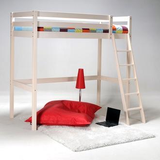 les 25 meilleures id es de la cat gorie lit mezzanine 140x200 sur pinterest lit mezzanine 140. Black Bedroom Furniture Sets. Home Design Ideas