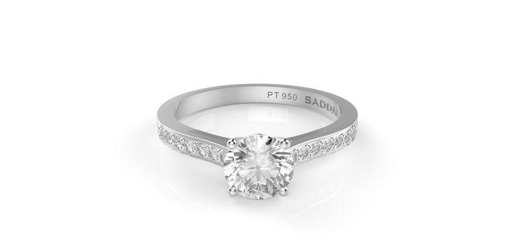 Atria Platinum Diamond ring