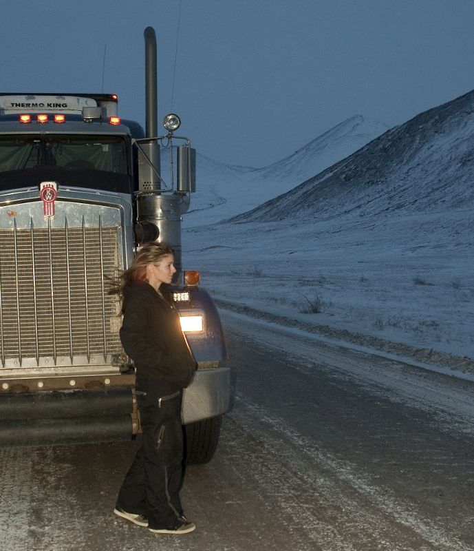 Back on the ice: Lisa Kelly's return to Ice Road Truckers