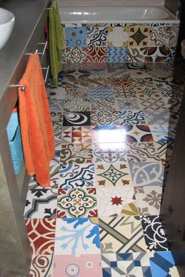 Carrelage sol carrelage mural les bonnes id es d co decoration bath and interiors - Deco hangend toilet idee ...