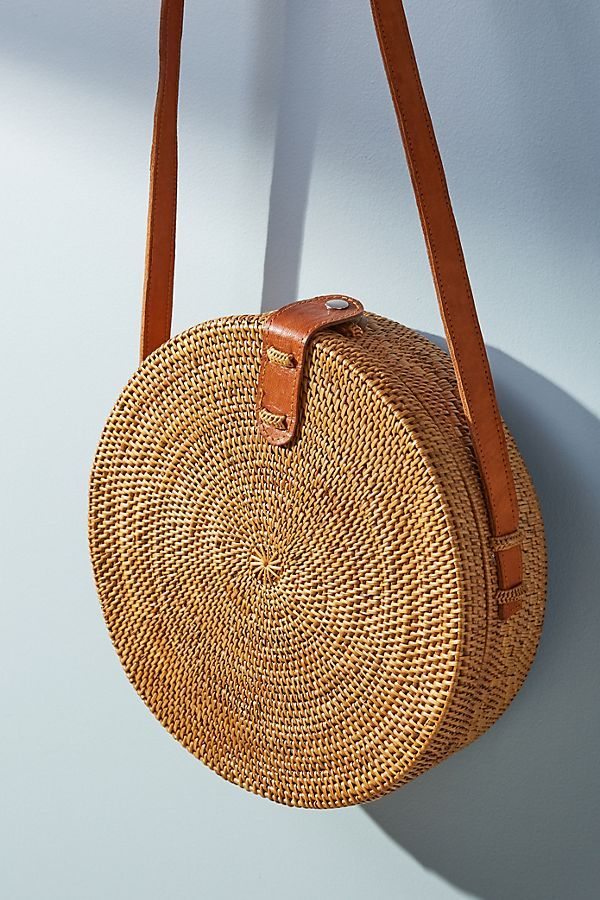 Slide View 1 Marcia Woven Crossbody Bag