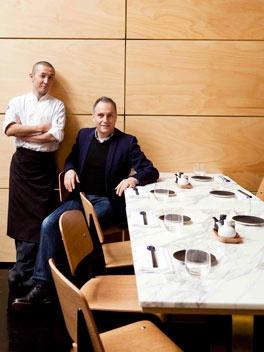 Akachochin Head Chef Kengo Hiromatsu & Owner Paul Mathis #swpromenade #melbourne #japanese #izakaya