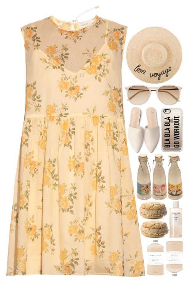 """""""5496"""" by tiffanyelinor ❤ liked on Polyvore featuring The Great, Witchery, Arme De L'Amour, Casetify, Retrò, Williams-Sonoma and Sachajuan"""