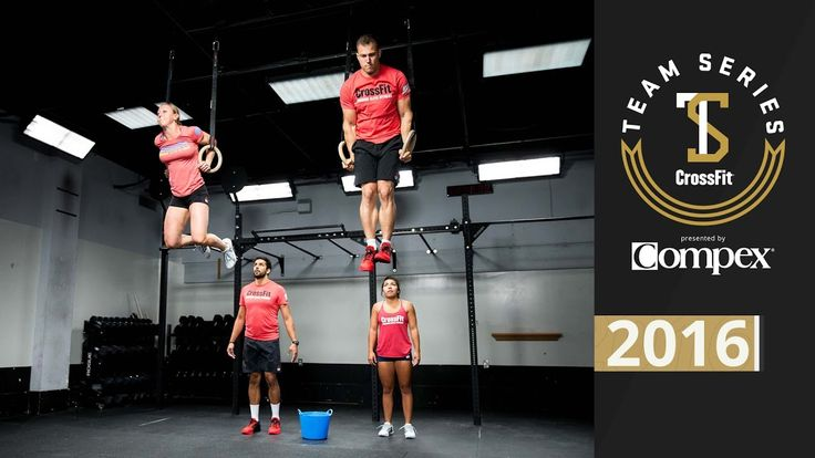 CrossFit Team Series 2016: Event 6 Demo
