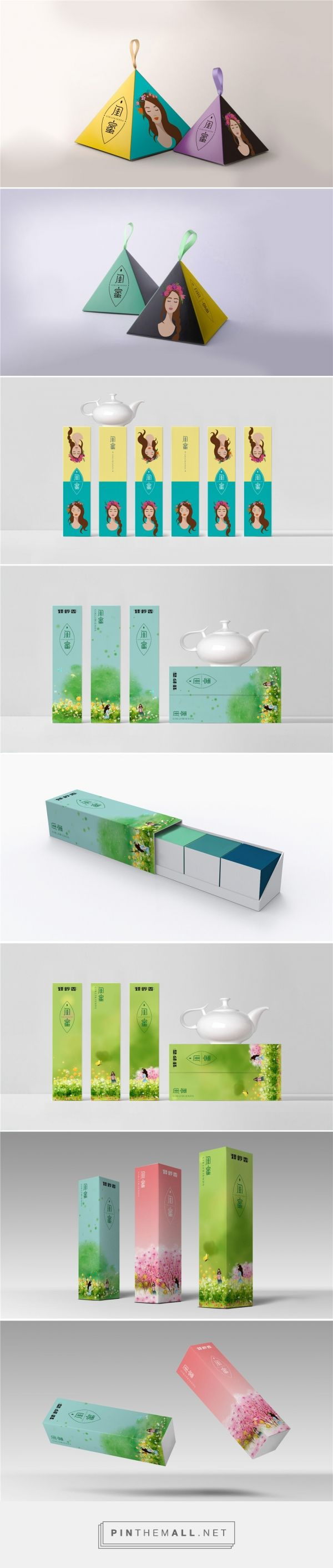 Bestie Tea - Packaging of the World - Creative Package Design Gallery - http://www.packagingoftheworld.com/2017/09/bestie-tea.html