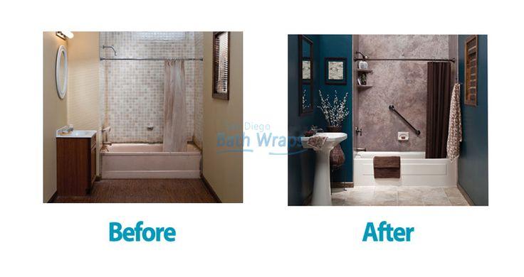 Personalize your bathroom with San Diego Bath Wraps!