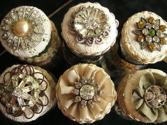 bejeweled   jar tops
