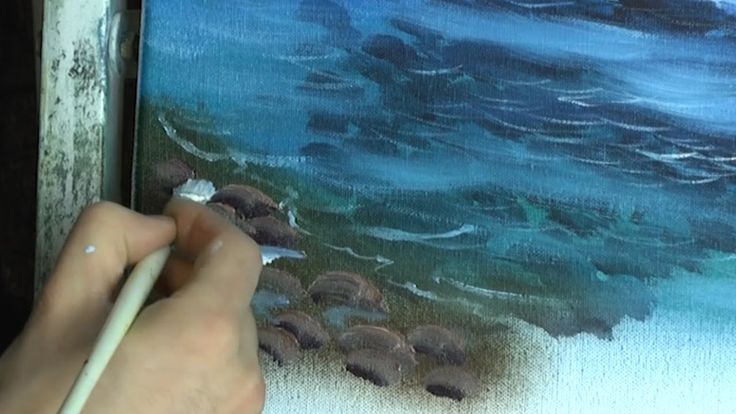 Clear Waters - Painting Lesson tutorial. Please also visit www.JustForYouPropheticArt.com for more colorful art you might like to pin. Thanks for looking!