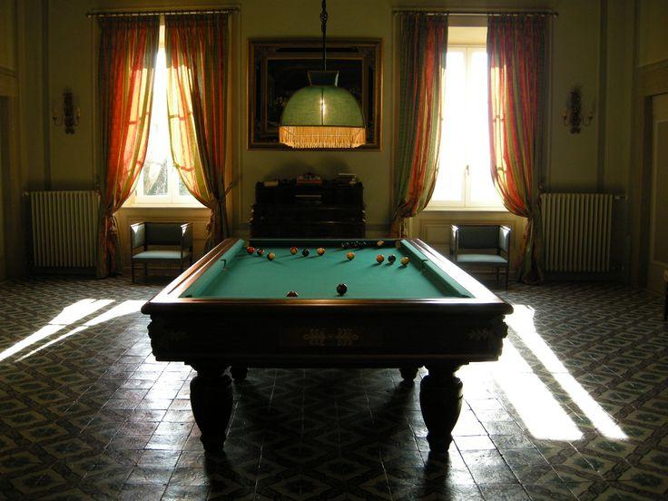 The old ballroom now the billiard hall