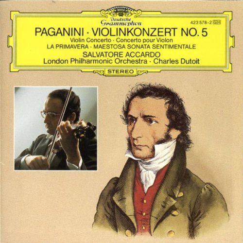 Paganini: Violinkonzert No. 5, La Primavera - Maestosa sonata sentimentale