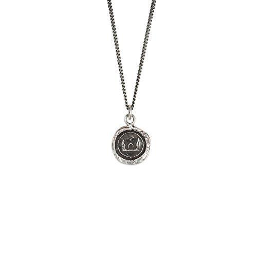 TOC Sterling Silver St Christopher Hallmarked Ingot Pendant Necklace 18 fg3rGFyT21