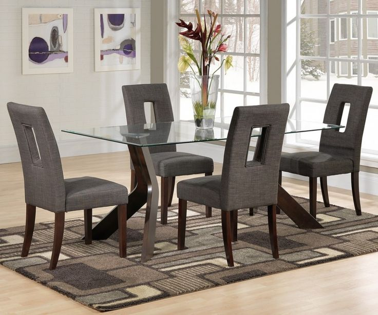 Amazing The Popular Ashley Furniture Dining Room Chairs For A Perfect Decoration:  Alluring Contemporary Dining Room Idea