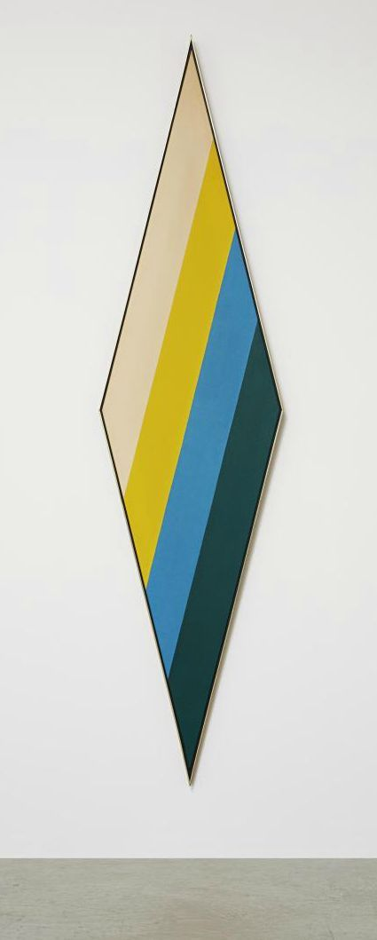 """Till"" by Kenneth Noland, 1966"