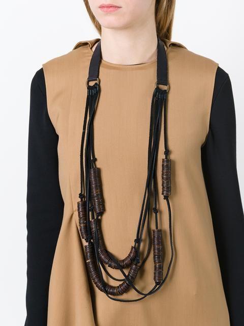 Marc Le Bihan многослойное ожерелье